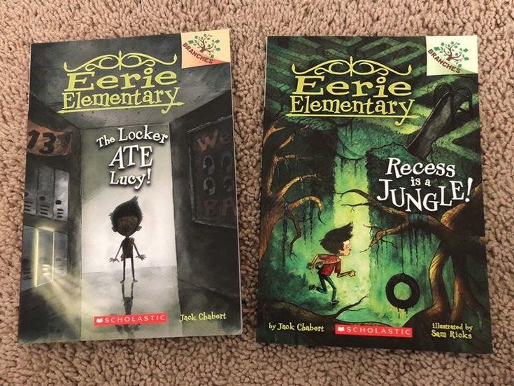 Eerie elementary books 2 3 childrens books comic books