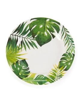 "Tropical Melamine 11"" Dinner Plate"