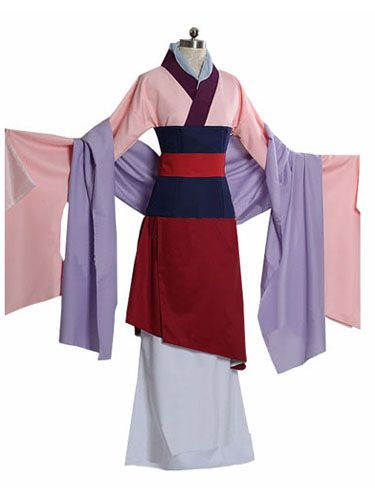 Custom Princess Mulan Costume for adults and Kids