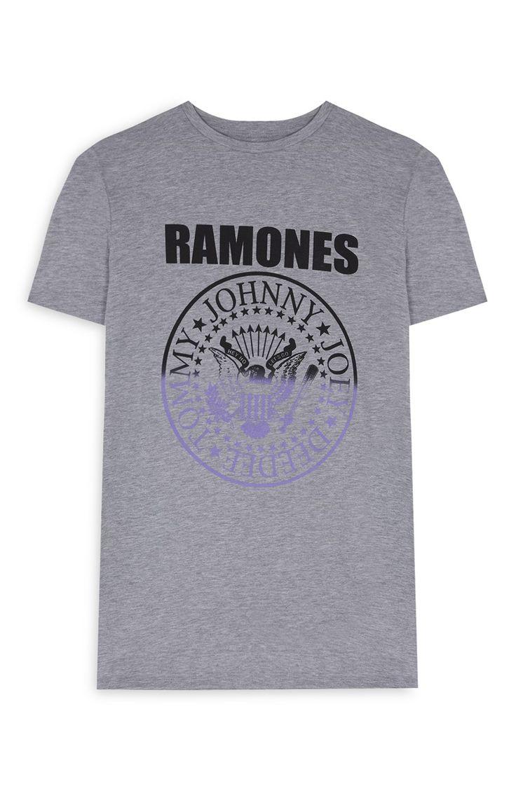 Grey Ramones T-shirt