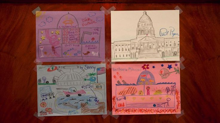 Congress Members Spend Afternoon Drawing Pictures Of Their Dream Capitols