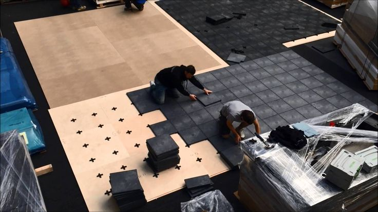 UPM ProFi Tile Installation, London 2015