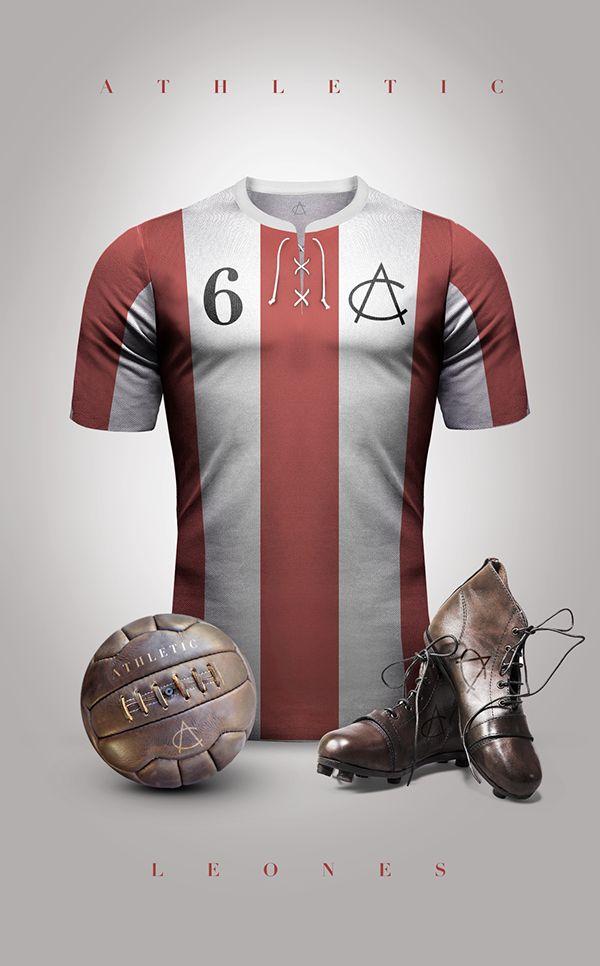 Vintage Clubs II on Behance - Emilio Sansolini - Graphic Design Poster - Athletic - Leónes