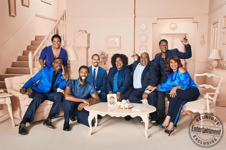 Kellie Shanygne Williams , Darius McCrary, Shawn Harrison, Bryton McClure, Jo Marie Payton, Reginald VelJohnson, Jaleel White, and Telma Hopkins