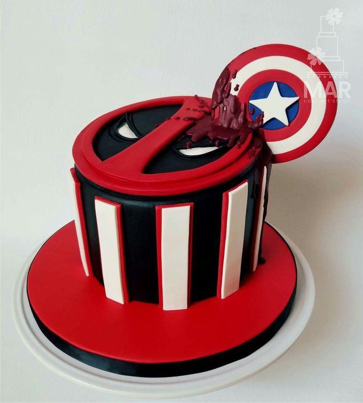 Deadpool Birthday Cake                                                                                                                                                     Más