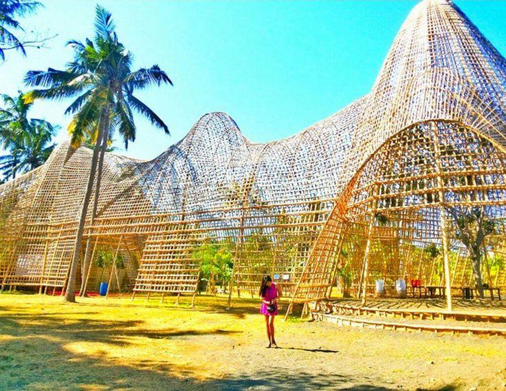 Unique bamboo house - Rumah Bambu Pengalon - Candidasa
