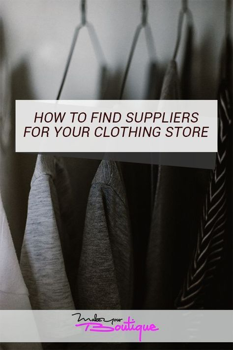 How To Find Wholesale Clothing Vendors And Suppliers For Your Online