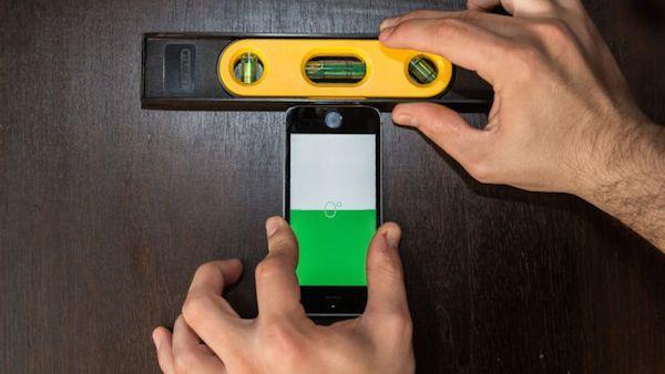 Comment accéder au niveau horizontal et vertical iphone