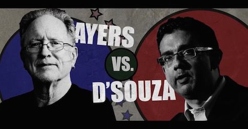 Dinesh D'Souza to debate Bill Ayers on American exceptionalism; watch promo