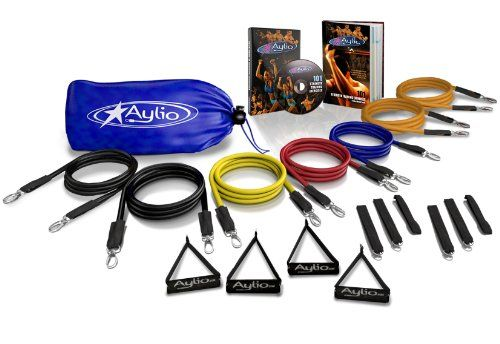 Aylio Ultimate Resistance Bands Fitness Set $59.99: Bands Sets, Exercise Bands, Fit Sets, Resistance Bands, Exerci Bands, Ultimate Resistance, Aylio Ultimate, 100 Exerci, Bands Fit