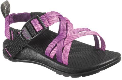 Chaco Kids ZX/1 Waterproof strappy sandal in purple violet