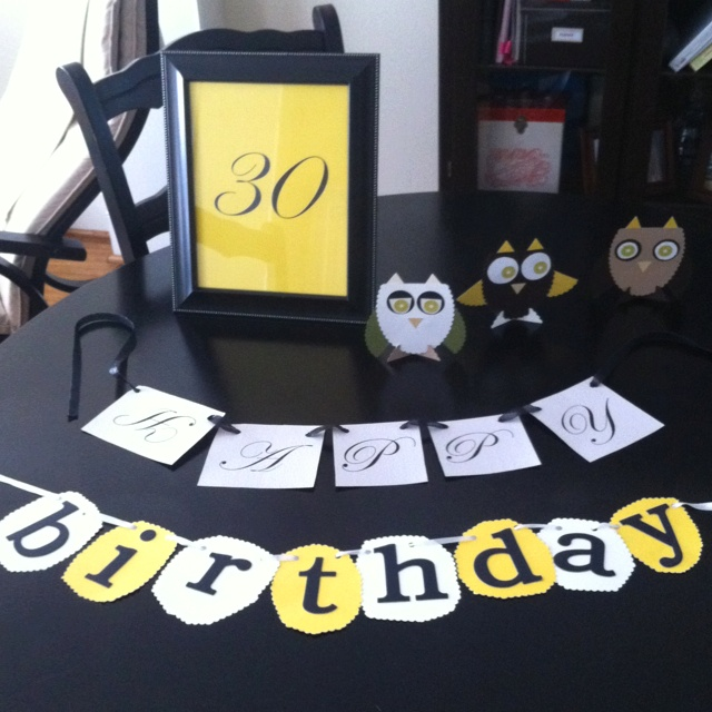 30th Birthday Decoration Ideas Pinterest Image Inspiration of