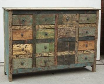More Indian Reclaimed Wood Furniture