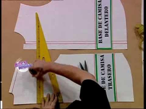 Enseña la COSTURA D E LA CAMISA DE HOMBRE    Hermenegildo Zampar - Bienvenidas TV - Enseña la costura de la camisa de...
