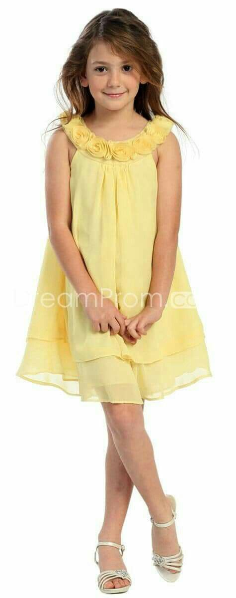 Vestido niña fashion girl trabajo