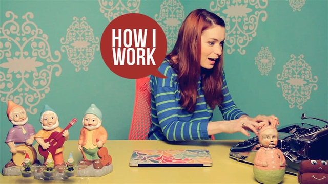 I'm Felicia Day, and This Is How I Work #filmmaking #webseries #pinterest @FeliciaDay