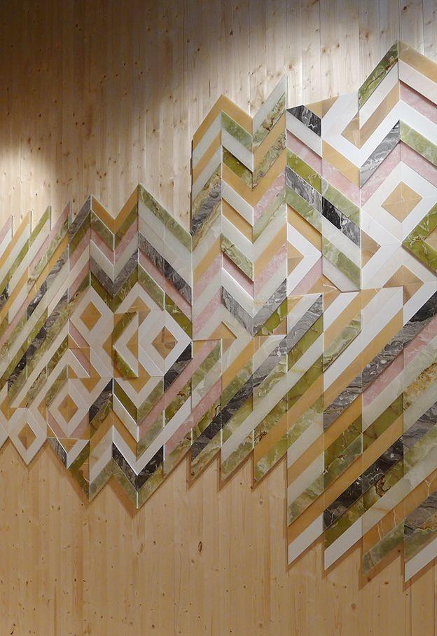 Salone del Mobile 2013: Earthquake series by Patricia Urquiola for Budri