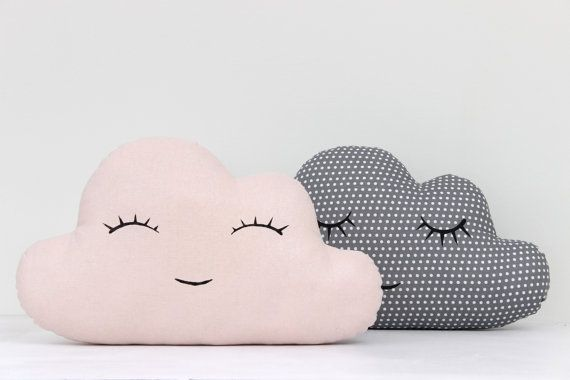 Set Of Two Cloud Pillows Cloud Cushion Kids by ProstoConcept