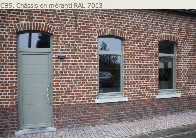 RAL 7003 MOSS GREY DOOR & WINDOWS