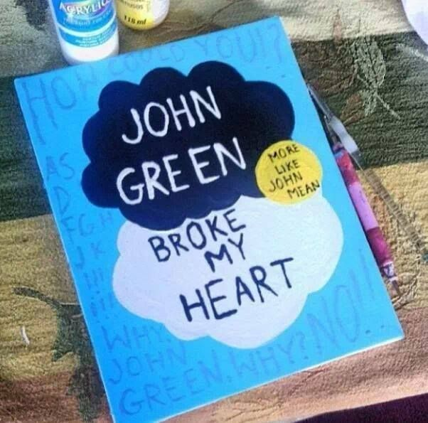 The Fault In Our Stars ha-ha more than you will ever know