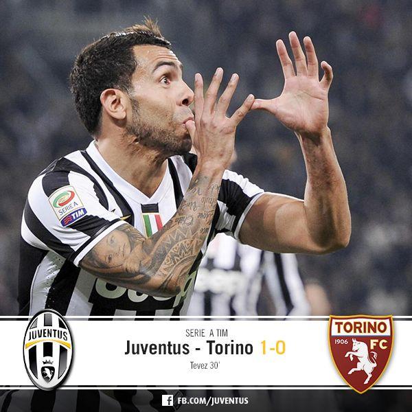 Juventus Torino 1-0 (Tevez)