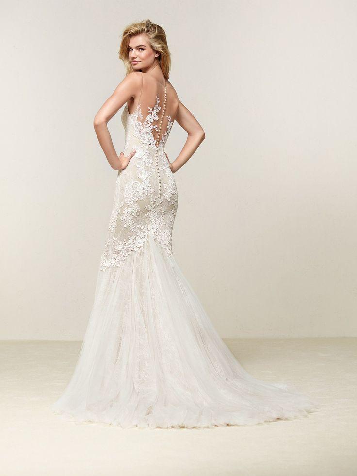 71 besten Pronovias Bilder auf Pinterest | Hochzeitskleider ...