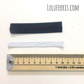 Te enseñamos una forma muy fácil de calcular el porcentaje de elasticidad de una goma, algo que necesitas saber para hacer una cintura elástica.