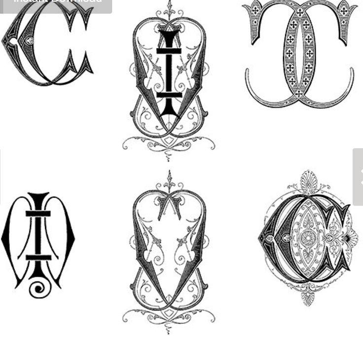 76 best Design: Monograms & Seals images on Pinterest