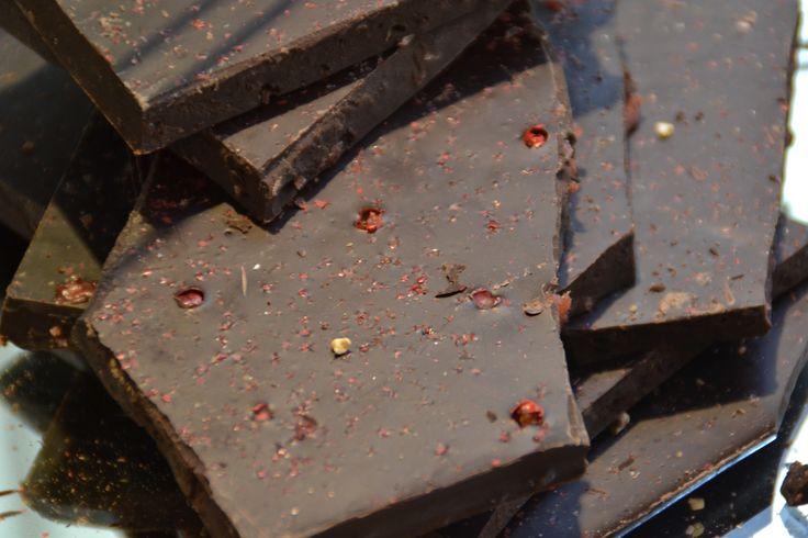 red pepper dark chocolate