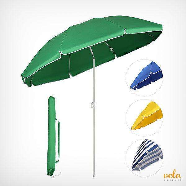 Sombrilla playa en diferentes colores y diseños con buena relación calidad precio