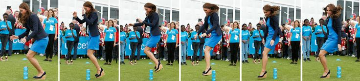 Kate 'joins' in the Commonwealth games