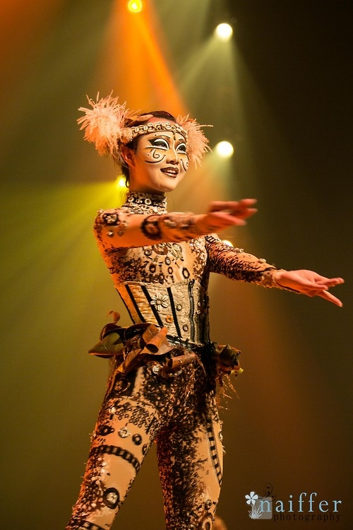 Naiffer Fashion Photography for Cirque du Soleil - TOTEM