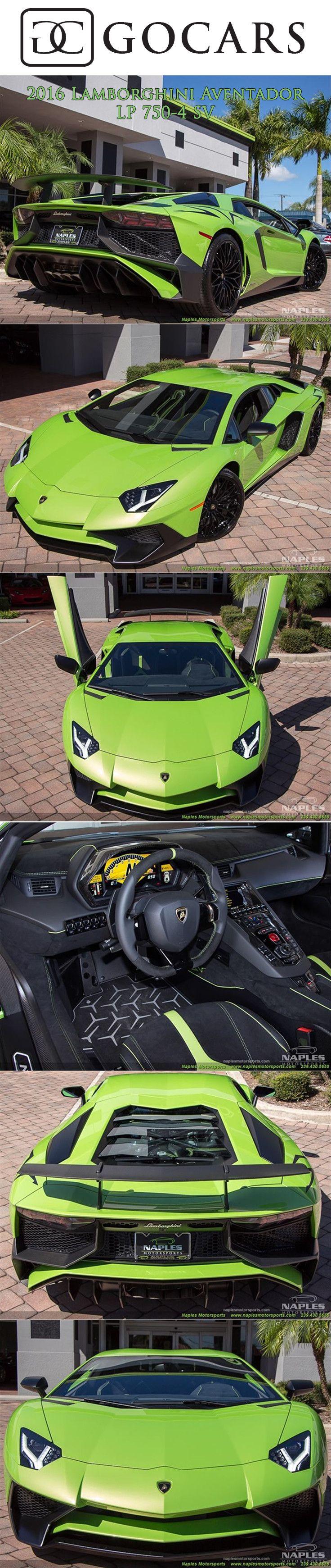 2016 Lamborghini Aventador LP 750-4 SV for sale on GoCars #lamborghini #aventador #lamborghiniaventador #lambo #lamborghiniaventadorlp700 #supercars #supercar #sportscars #sportscar #luxury #luxurycars #lamborghiniphotos #gocars