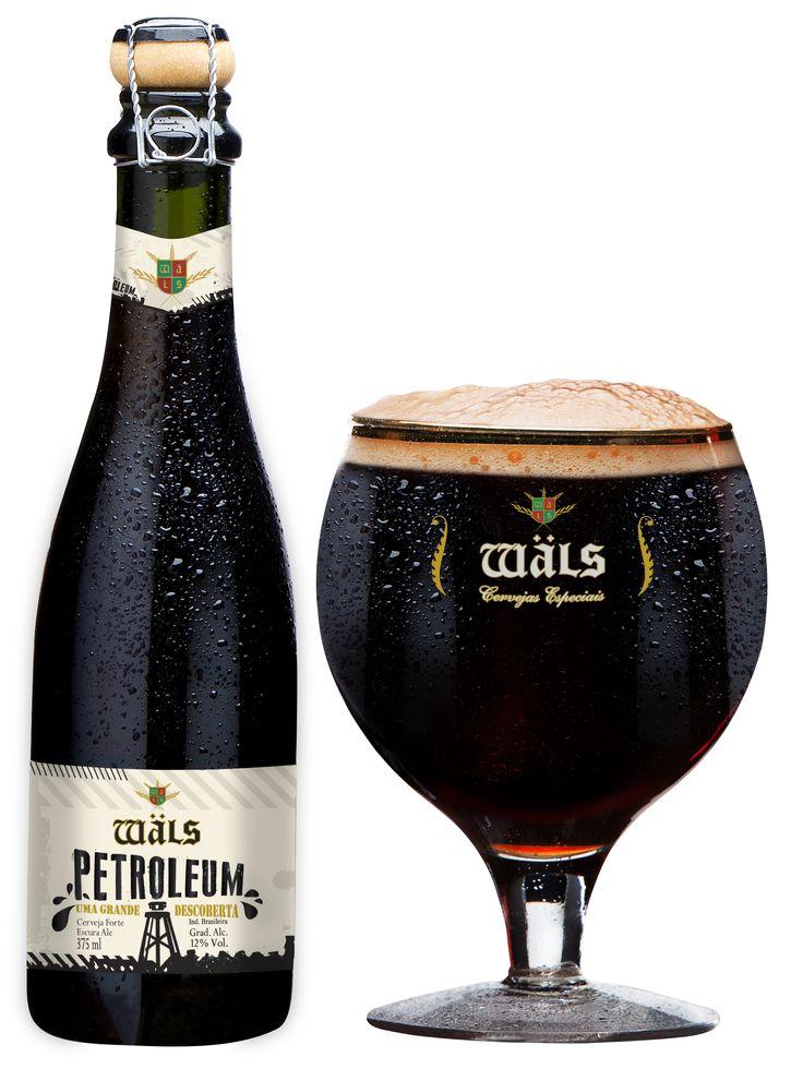 Wäls Petroleum (Tipo Russian Imperial Stout). Cervejaria Wäls (Belo Horizonte-MG) em parceira com a Cervejaria Dum (Curitiba-PR). #brazil #beer