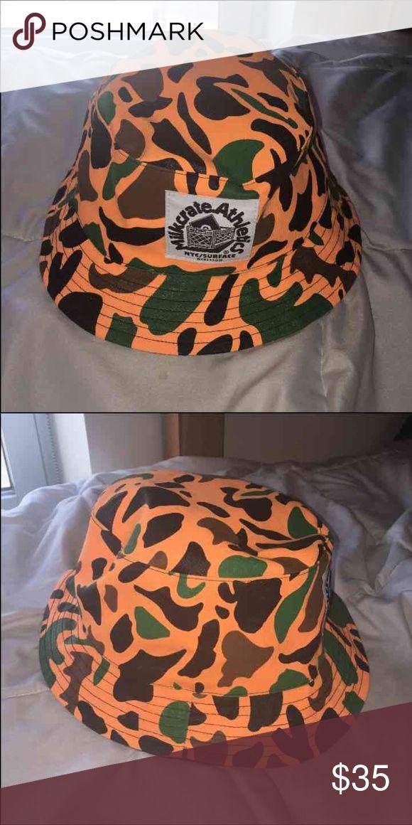 Camo Bucket Hat Milkcrate Bucket Hat from Zumiez.com milkcrate Other