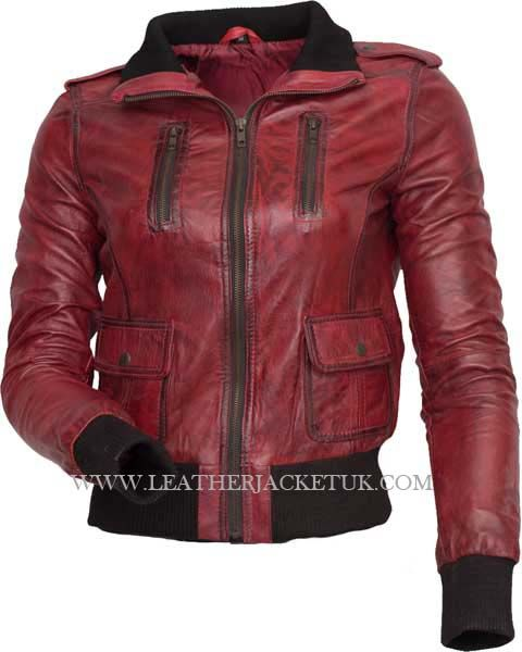 Womens leather jackets in sale – Modern fashion jacket photo blog