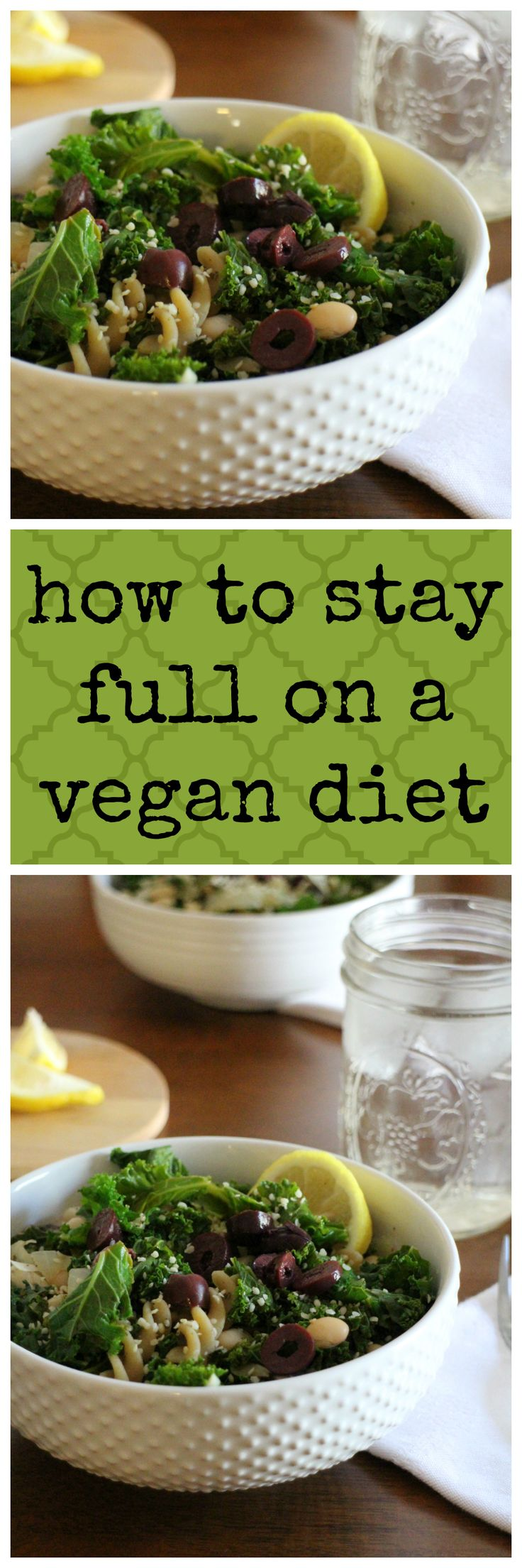 Worried about feeling hungry on a vegan diet? Here's what works for me to feel full and satiated. | cadryskitchen.com