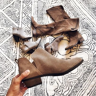 my kind of sweet | fall boots | fall style | over the knee boots | ankle booties (affiliated)