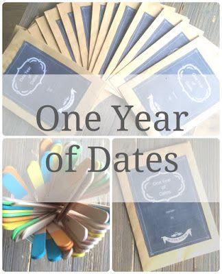 Frau Beate: One Year of Dates | Jahrestagsgeschenk