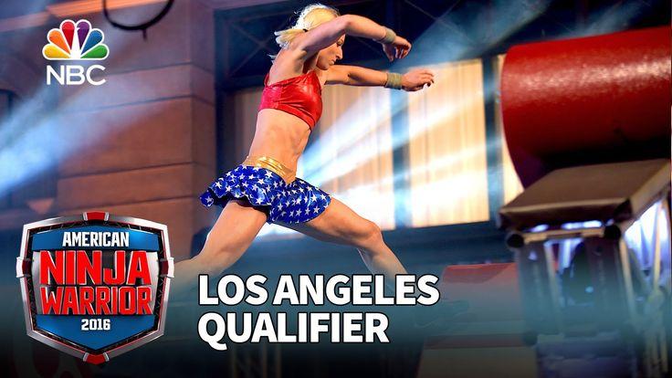 Jessie Graff's super Los Angeles Qualifier run.