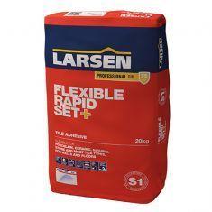 Larsen White Flexible Tile Adhesive