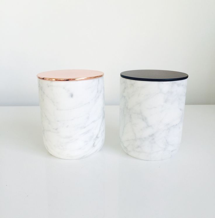 Wholesale Home Decor Australia: Marble Jar // Soy Candle // By Yellow Finch // From