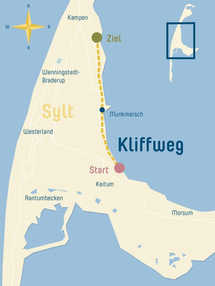 Wandern auf Sylt – der Kliffweg von Keitum nach Kampen