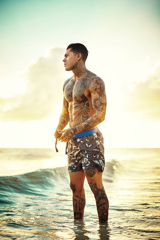 Stephen James aka whoiselijah | Look book photo shoot for Thomas Royall SS15 | Photographed by Adam Fussell | View more at thomasroyall.com