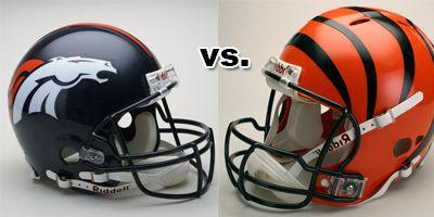 pics bengals vs broncos | Cincinnati Bengals vs. Denver Broncos at Paul Brown Stadium ...