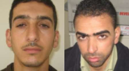 """Israel Names Hamas' Marwan Qawasmeh and Amer Abu Aisha as Suspects in Kidnapped Teens Search: Israel has named two men as suspects in the alleged kidnapping of three Israeli teenagers in the West Bank. Marwan Qawasmeh and Amer Abu Aisha, associated with the Palestinian militant group Hamas, served time in an Israeli prison for """"terrorist activity"""" and were from the Hebron area, according to the Shin Bet security service. The two were considered suspects immediately after the abduction..."""