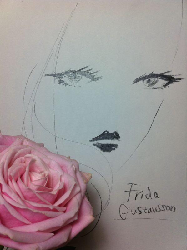 """""""Frida Gustavsson"""" fabulous! 素晴らしく美しいモデルのフリーダ・グスタフソン。"""