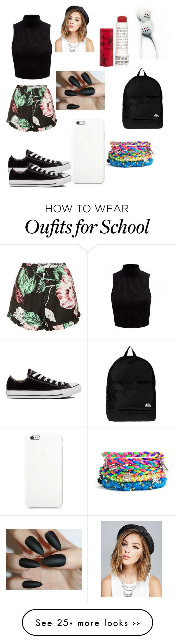 """when your first day of school outfit on fleek"" by lmfao5678 on Polyvore"