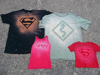 Six Sisters' Stuff: DIY Bleach T-shirt Tutorial - The Perfect Valentines Gift for Him or Her!