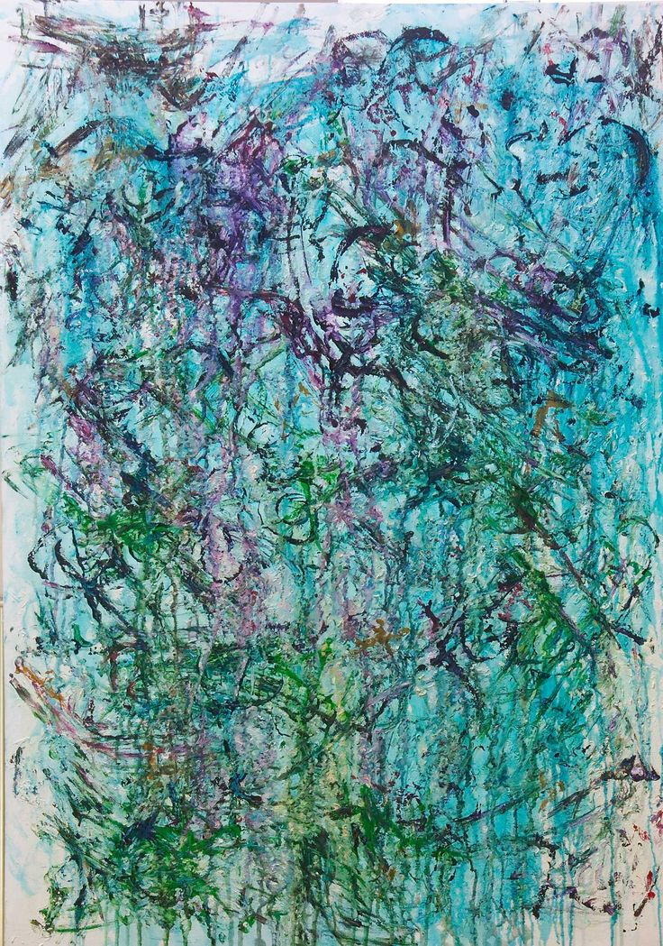 #metaphysical #art by #hilarmararney abstract painting (oil on canvas)